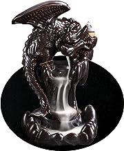 OTDCGI Cartoon Incense Waterfall Dragon Incense Burner Backflow Waterfall Incense Holder Aromatherapy Ornament Handmade Ce...