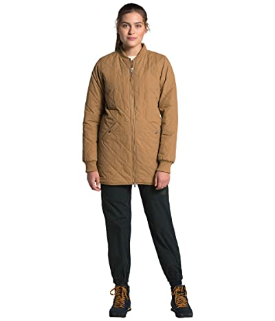 The North Face Cuchillo Parka (Utility Brown) Women
