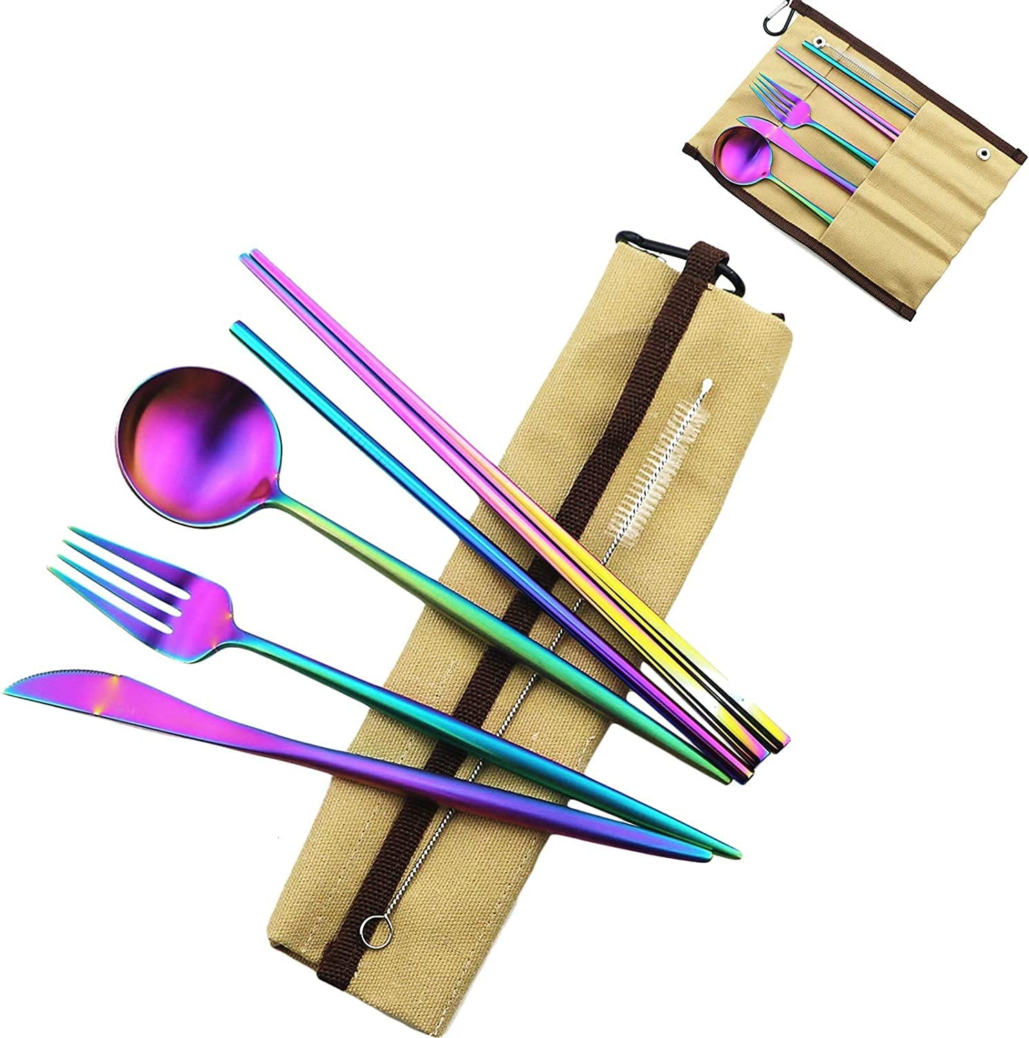 Large special price !! PjxTBd Eco-Friendly Matte Finish Virginia Beach Mall Flatware Pieces Sets Cutlery 7