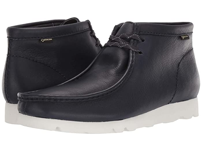 Clarks  Wallabee Boot GTX (Ink Leather) Mens Shoes