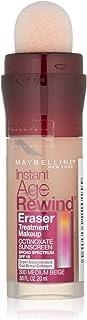 Maybelline Instant Age Rewind Eraser Treatment Makeup, Medium Beige, 0.68 fl. oz.
