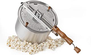 Wabash Valley Farms Irresistible Movie Popcorn Starter Set Includes: Whirley Stovetop Popcorn Popper, 3 Delicious Real Theater Popping Kits - Perfect Starter Kit