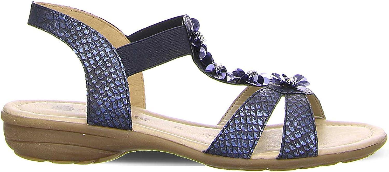 ARA Damen Damen Sandaletten 1232725-14 blau 404169  Grundpreis