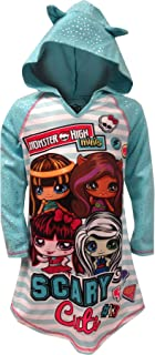 Monster High Girls Hooded Nightgown Pajamas (Little Kid/Big Kid)