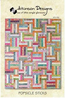 Atkinson Popsicle Sticks Jelly Roll Quilt Pattern