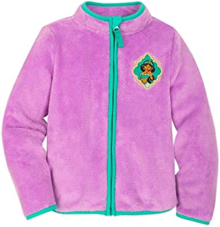 Disney Jasmine Zip Fleece Jacket for Kids - Multi