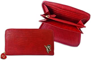 Betty Boop Classic Red Long Ladies Wallet