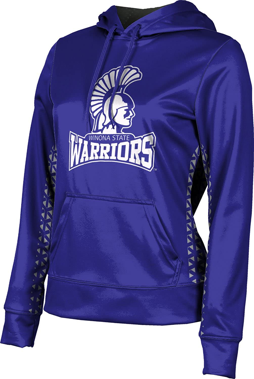 ProSphere Winona State University Girls' Pullover Hoodie, School Spirit Sweatshirt (Geometric)