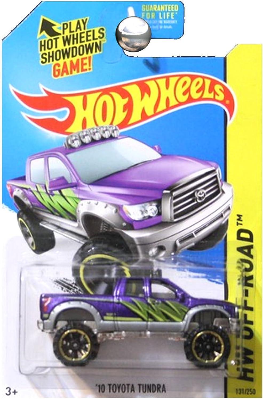 2014 Hot Wheels Hw OffRoad '10 Toyota Tundra  Purple