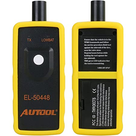 Autool Capteur de pression des pneus TPMS pour voiture - Outil d'activation TPMS - Pour GM 2010-2013