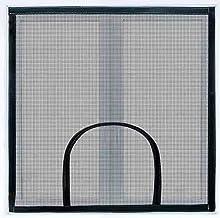 Universeel raamklamboe met ritssluiting, anti-vogel en kat-proof onzichtbare raamgaas, indoor insecten vliegengaas vliegen...
