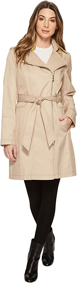 Vince Camuto - Asymmetrical Belted Trench