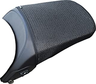 TRIBOSEAT Housse de si/ège Anti Slip Passenger con/çue pour sadapter /à la Couleur Noire Compatible avec Kawasaki Z1000 2007-2009