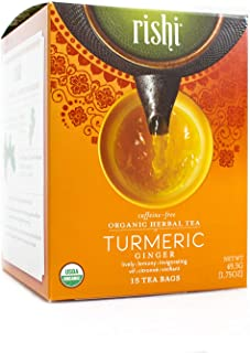 Rishi Tea Tumeric Ginger, FT (6x15 BAG)