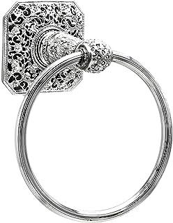 8b41ba22b071 Carpe Diem Hardware 4067-24CAB Juliane Grace Full Towel Ring Made with Swarovski  Crystals