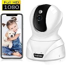 Tovendor 1080P Home Pet Camera 2MP Indoor Security Camera with IR Night Vision, Motion Tracking Alert, Pan/Tilt/Zoom Camera for Baby/Elder/Nanny