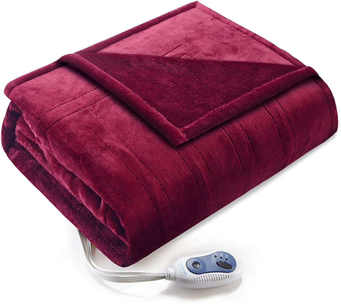 Comfort Spaces Limited price Luxury Microplush 1 Blanket Piece Wrap Max 78% OFF S Electric