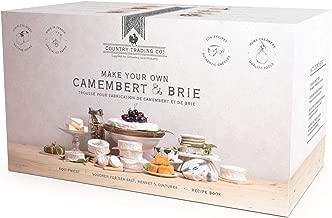 making camembert cheese