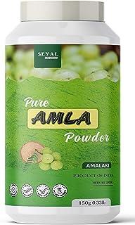 Seyal Pure & Organic Amla Powder For Hair Growth & Skin Indian Gooseberry 150g
