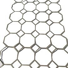 ガーデニング ステンシルシート型紙 ダイヤモンド型 85cm×200cm コンクリート表面模様付け型紙 DIY オーストラリア製CCI