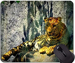 Gaming Mouse Pad,Leopard Cat Family Leopard Mouse Pads