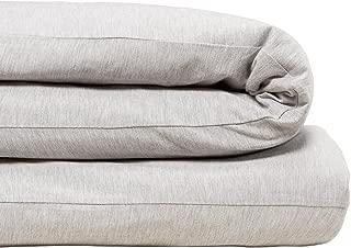 Calvin Klein Home Modern Cotton Body Duvet Cover, Twin, Grey
