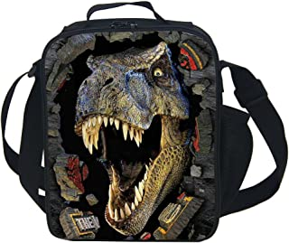 CAIWEI 3D Animal Dinosaur Insulated Lunch Box Cooler Bag