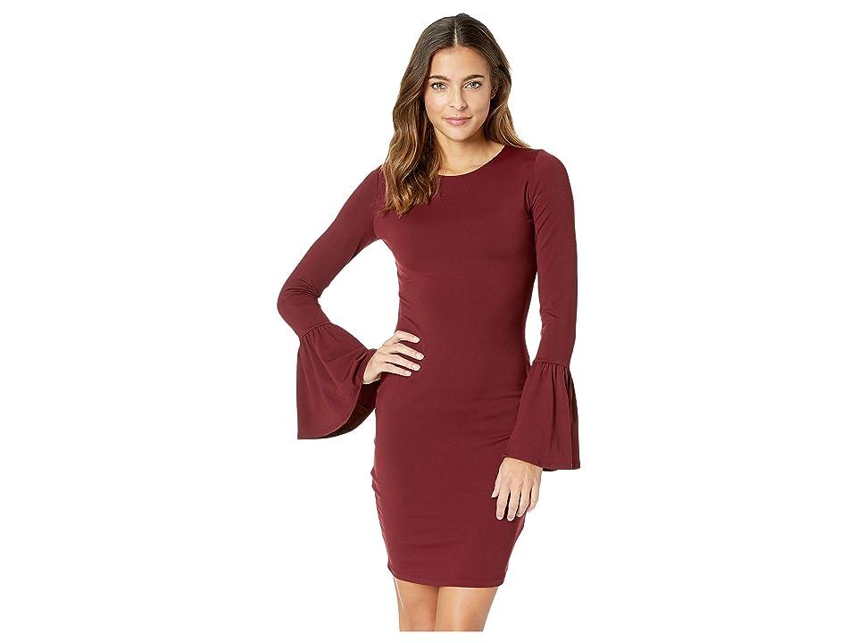 Susana Monaco - Susana Monaco Bell Sleeve Cuff Dress