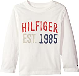 Tommy Hilfiger Kids - Hilfiger-Bex Jersey Long Sleeve Tee (Big Kids)