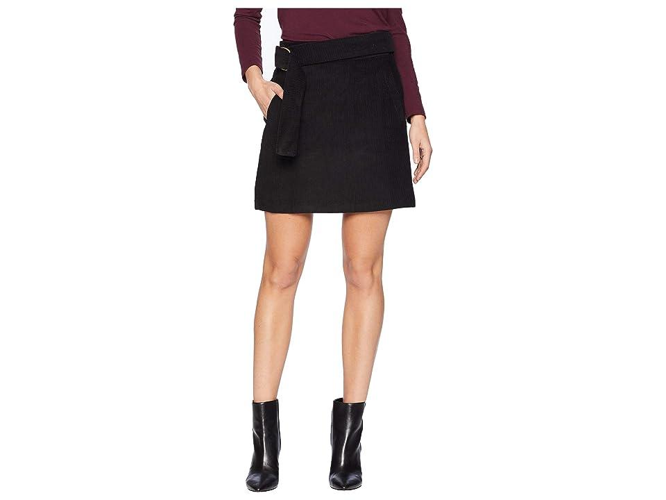 J.O.A. - J.O.A. Belted Corduroy Mini Skirt