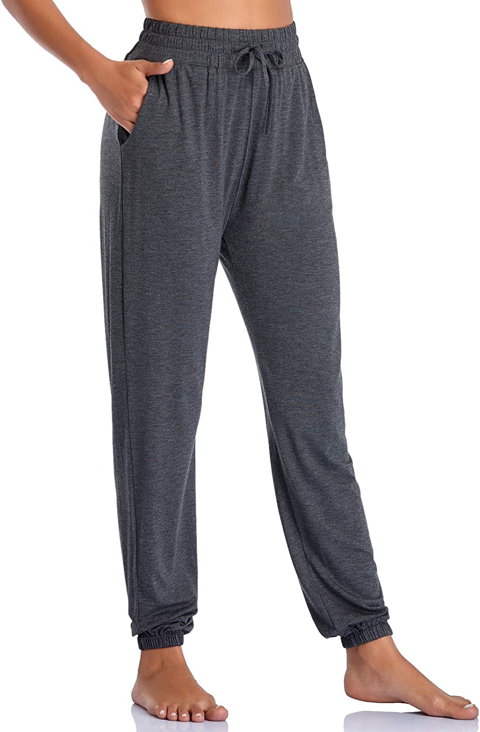 Envlon Women's Jogger Pants Tampa Mall with Many popular brands Yoga Loose Stretc Pockets