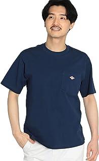 [ビームス] DANTON ダントン 半袖 カットソー ロゴ ポケット Tシャツ メンズ