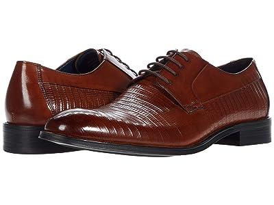 Steve Madden Ronzoe Oxford (Cognac Leather) Men