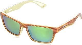 Costa Del Mar Hinano Sunglasses Driftwood/White/Khaki Green Mirror 580Plastic