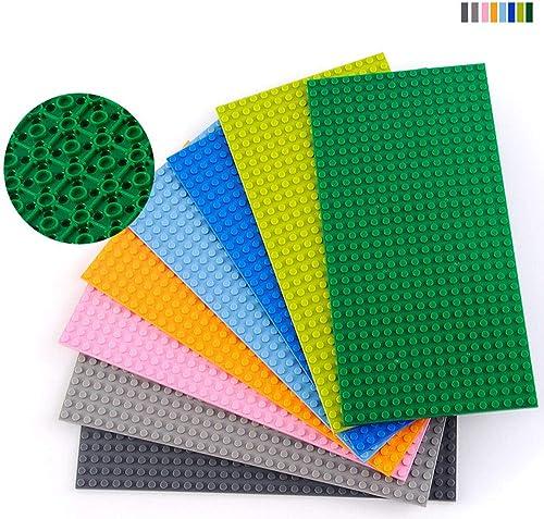 EP-Toy Base de Jouets de Construction de 16 × 32 Blocs, Jouets éducatifs pour Enfants (5 × 10 ),Darkbleu