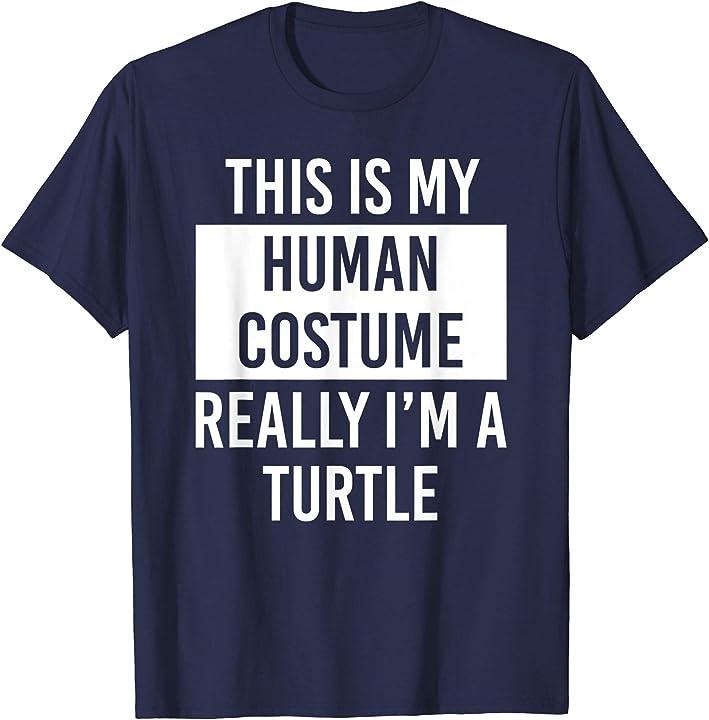 Really I'm Turtle Funny Christmas Gift T Shirt