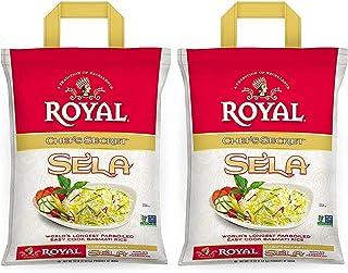 Royal Chef's Secret Parboiled Sella Extra Long Basmati Rice, 10 Pound 2 Pack