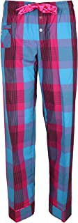 Junior's Preppy Plaid Cotton Pajama Pants