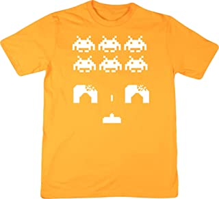 Hippowarehouse Space Invaders Unisex Short Sleeve t-Shirt (Specific Size Guide in Description)