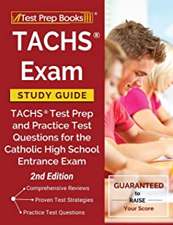 TACHS Exam Study Guide: TACHS Test Prep and Practice Test Questions for the Catholic High School Entrance Exam [2nd Edition]