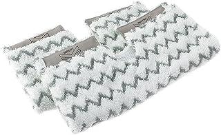 Shark Official Dirt Grip Pads [DIRTGRIP2E ] Compatible with Klik 'n' Flip Steam Mops S6001UK and S6003UK, White