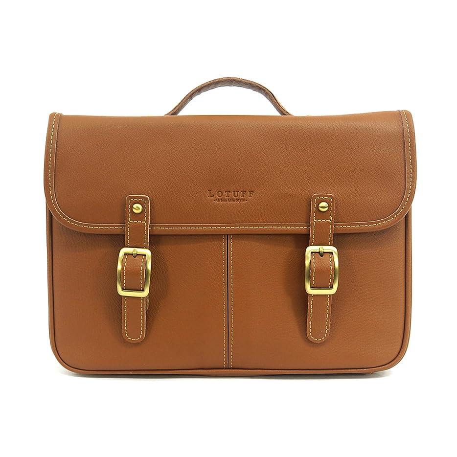 悲惨な売り手おんどりLOTUFF(ロトプ) 4 Color サッチェルバッグクロスバッグレザーバッグメンズレディースLO-0723 メンズ レディース Leather Satchel Bag Cross Bag [並行輸入品]