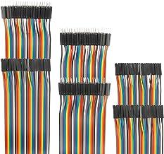 EDGELEC 120pcs Breadboard Jumper Wires 10cm 15cm 20cm 30cm 40cm 50cm 100cm Wire Length Optional Dupont Cable Assorted Kit ...