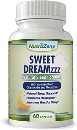 Sweet Dreamzzz -☆Huge Sale☆-Natural Sleep Aid Supplement with Valerian Root,