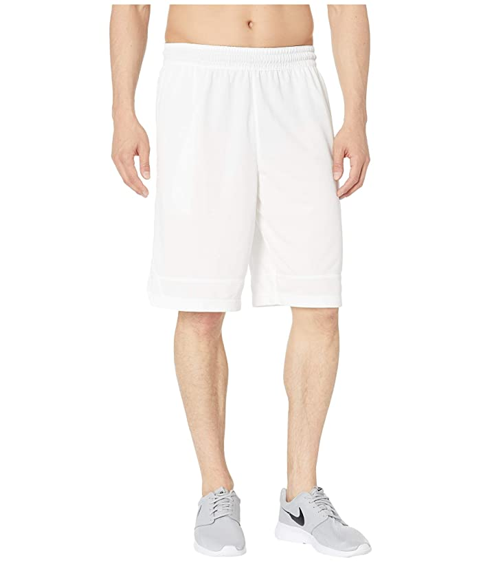 Nike Dry Icon Shorts (White/White/Black) Men