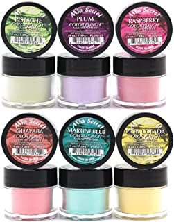 Mia Secret -Color Punch Collection Nail Acrylic Powder set of 6