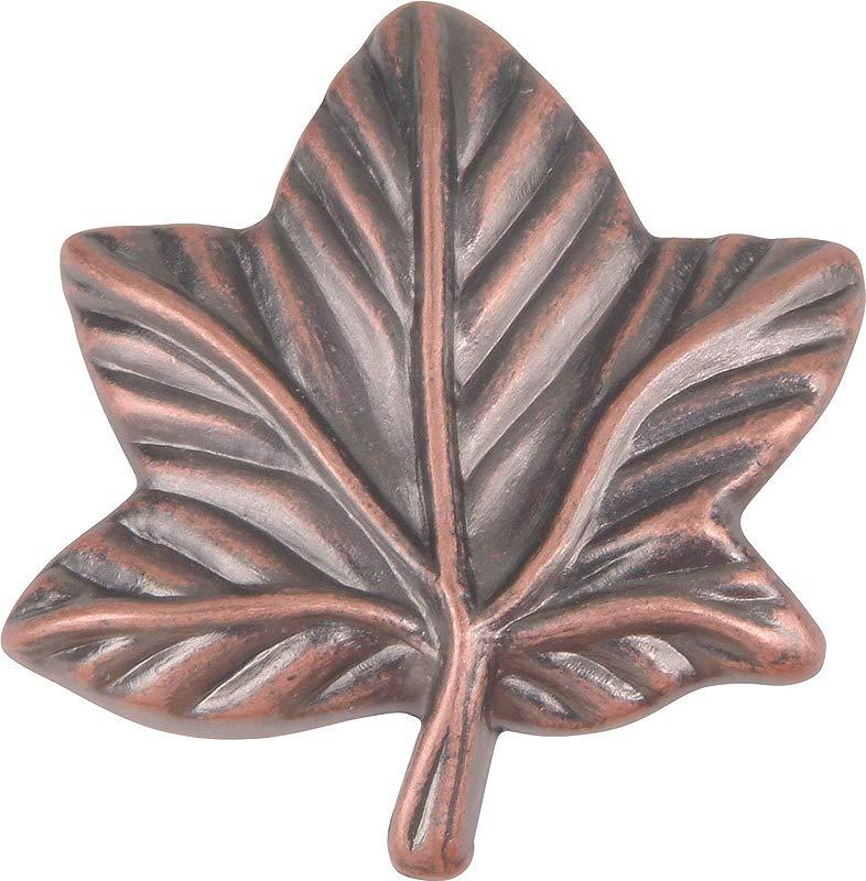 Leaf Novelty Knob Finish Copper