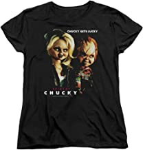 Bride of Chucky Chucky Gets Lucky Women's T-Shirt