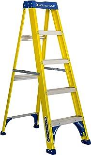 Louisville Ladder 5-Feet Fiberglass Step Ladder, 250-Pound Capacity, FS2005