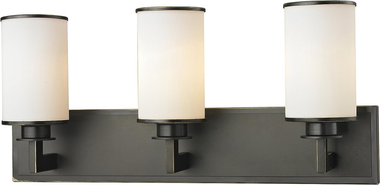 Z-Lite 413-3V 3 Light Olde Vanity Bronze 定番の人気シリーズPOINT(ポイント)入荷 AL完売しました